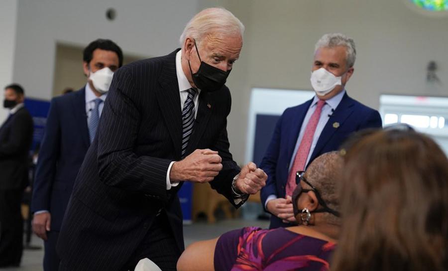 Fighting the Corona Virus Across: Biden