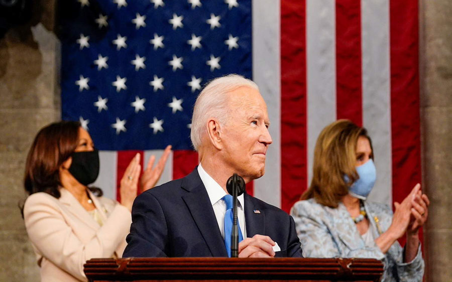 Stressing diplomacy, Joe Biden says not seeking conflict with China, Russia