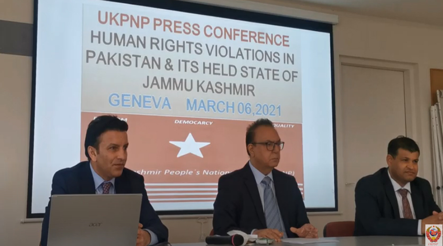 UKPNP Press Conference at Geneva