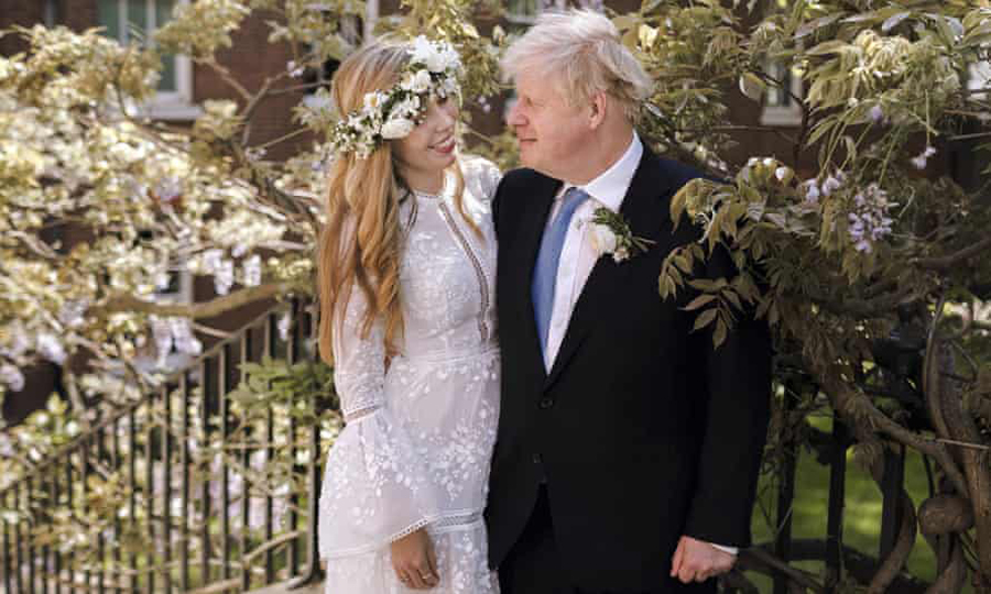 Boris Johnson and Carrie Symonds wed in secret