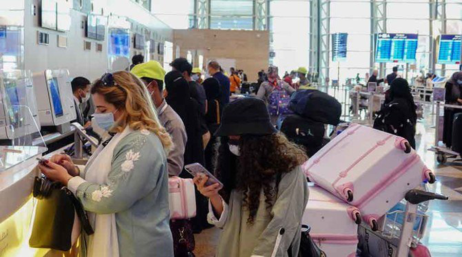 Saudi passengers flock to airports as foreign travel resumes