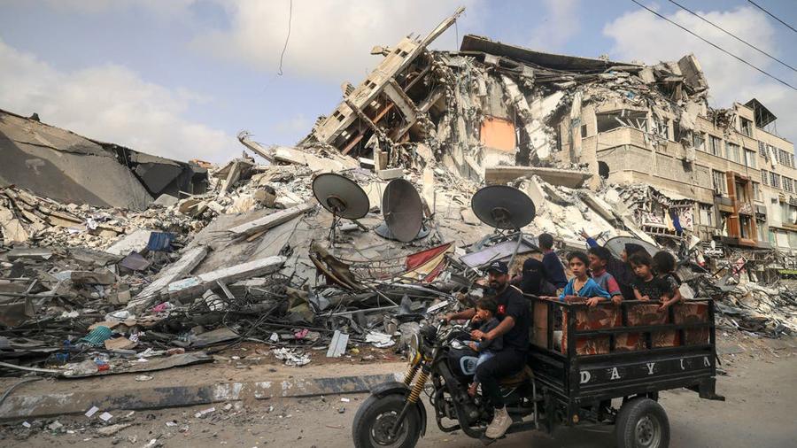 Saddened to see disaster in Gaza during visit : UNRWA chief