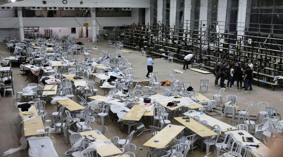 Israeli paramedics: 2 dead in synagogue bleacher collapse