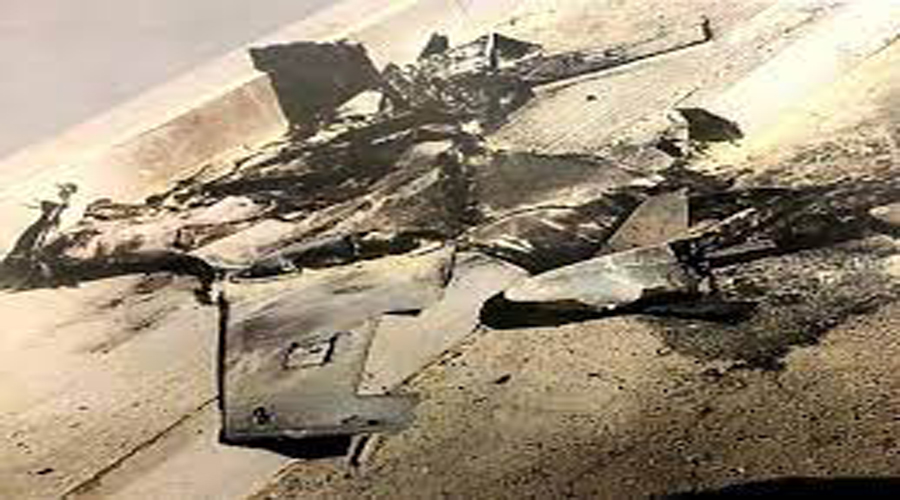 Arab coalition destroy explosive drone targeted Khamis Mashit