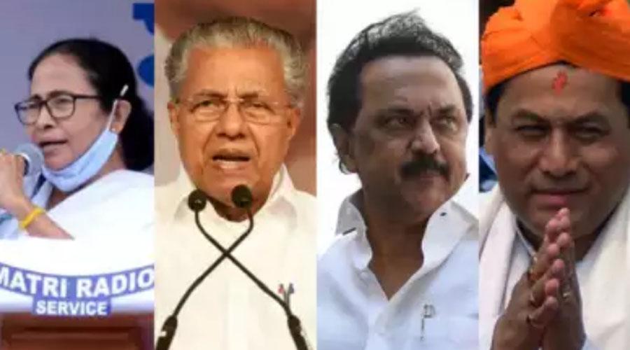 Mamata wins Bengal, DMK TN, LDF Kerala, BJP Assam