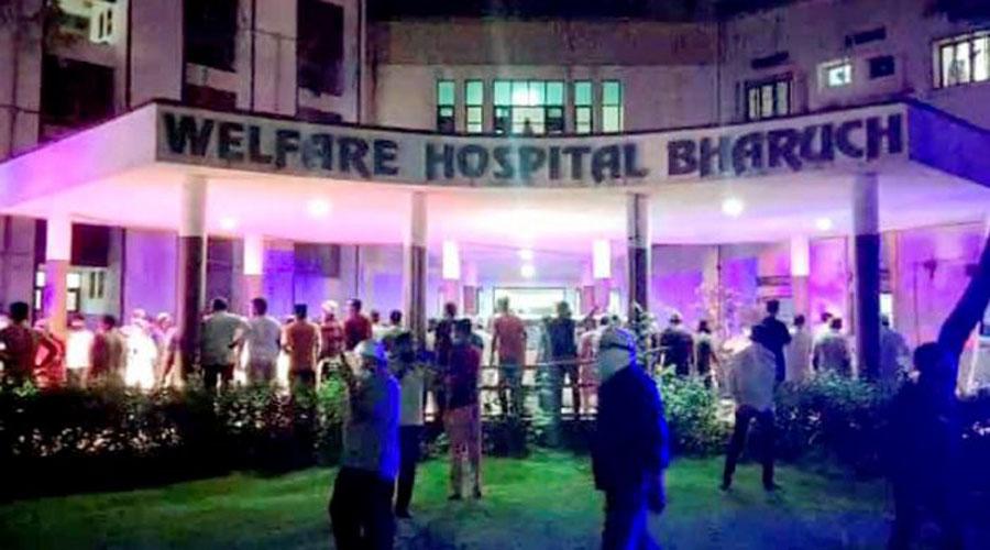 Gujarat: 18 Covid-19 patients, 2 nurses die in fire at Hospital in Bharuch