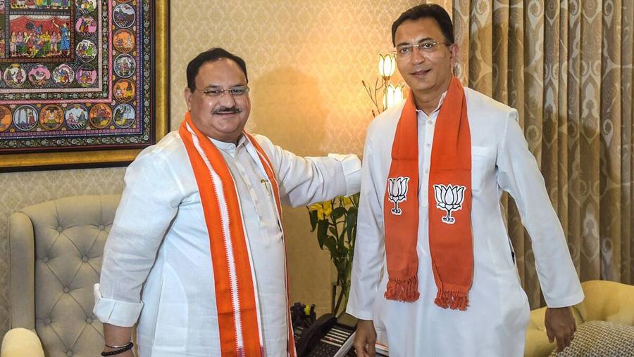 Congress leader Jitin Prasada joins BJP in Delhi