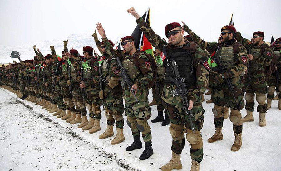 US promise to extend 4 billion dollar aid per annum to Afghan army