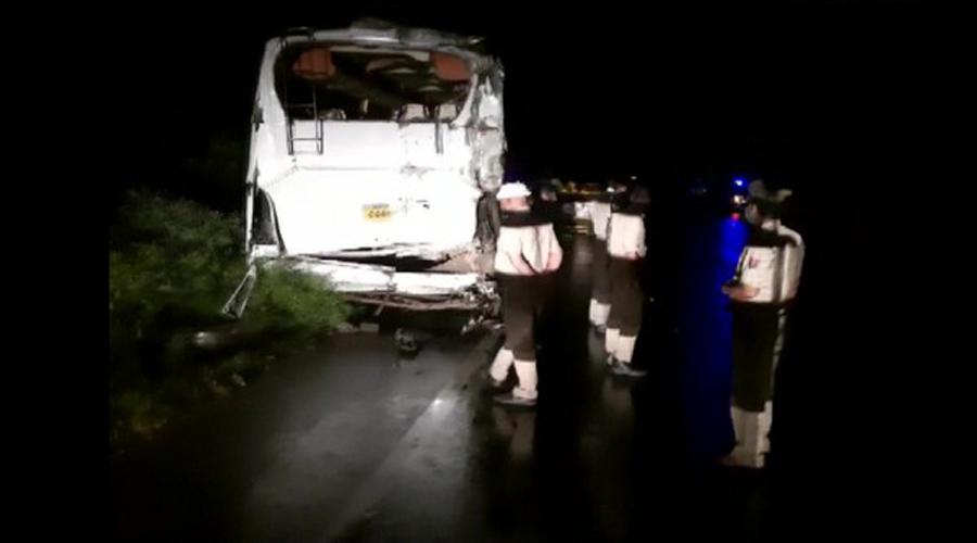 Seven killed, several injured after buses collide in Sambhal in Uttar Pradesh