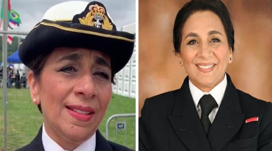 Durdana Ansari becomes first muslim Captain of The British Royal Navy