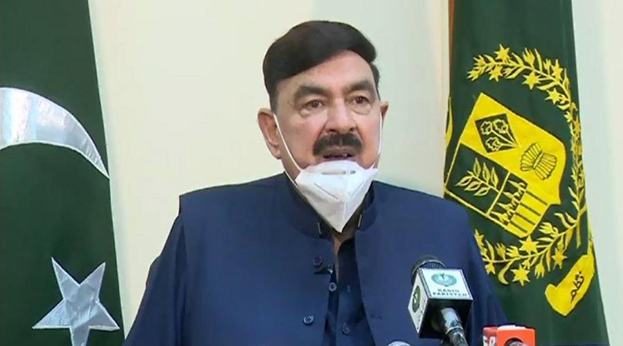 Pakistan interior minister Sheikh Rasheed advice India to leave Afghanistan