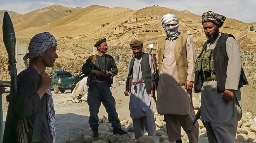 What is the source of income of Taliban and why US failed to defeat them