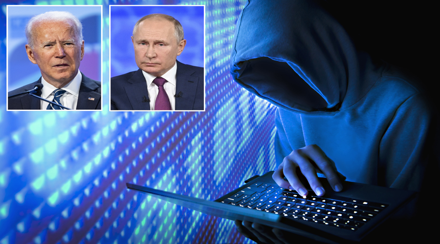 Biden tells Russia President Putin the US will take every neccesary step to stop cyber attack from Russia