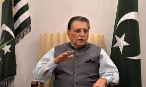 PoK PM threatens sit-in against Imran Khan