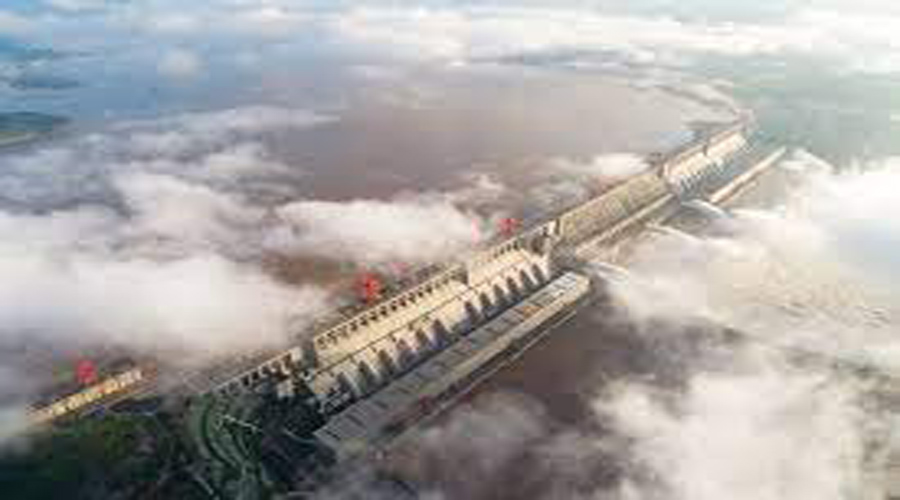 Chinese dam stop the water of five countries