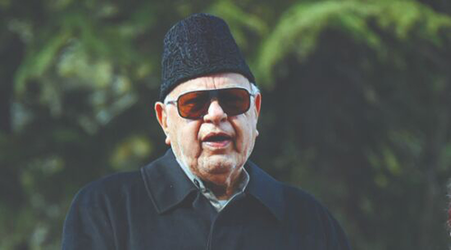 Farooq Abdullah gets angry on journalists over questions on delimitation exercise in J&K