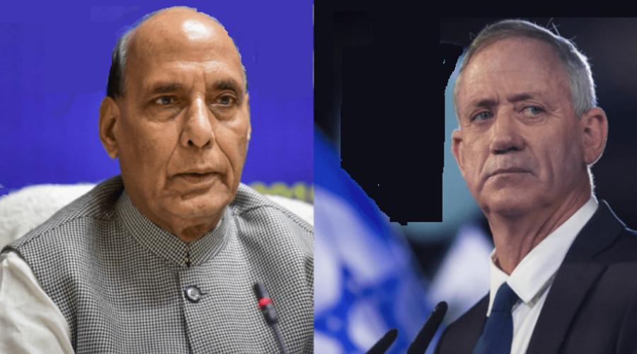 Rajnath Singh speaks to Israeli defence minister