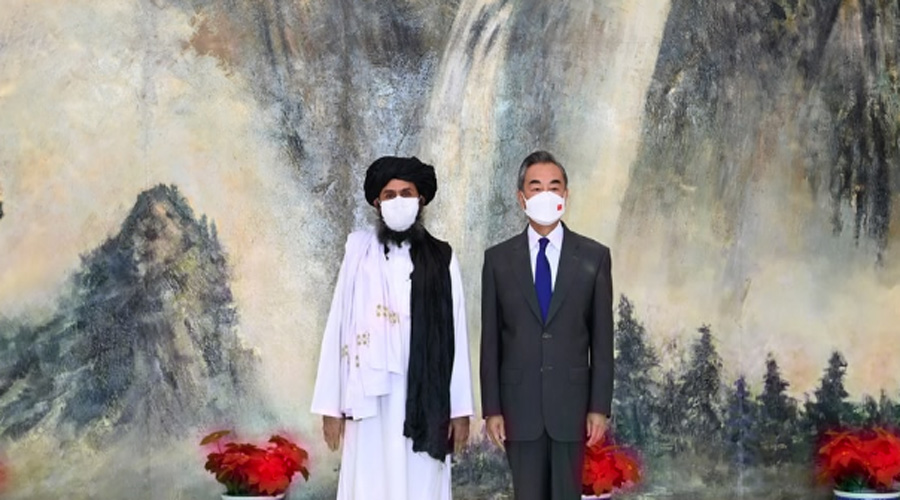 China urges Afghan Taliban to cut ties with all terrorist forces
