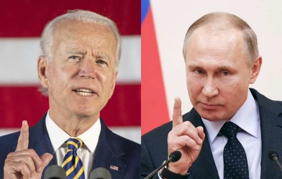 Biden accuses Russia of already Interfering in next year's midterm U.S. elections