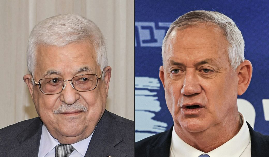 Mahmoud Abbas meets Israeli defence minister and discusses Phelestine - Israel relations