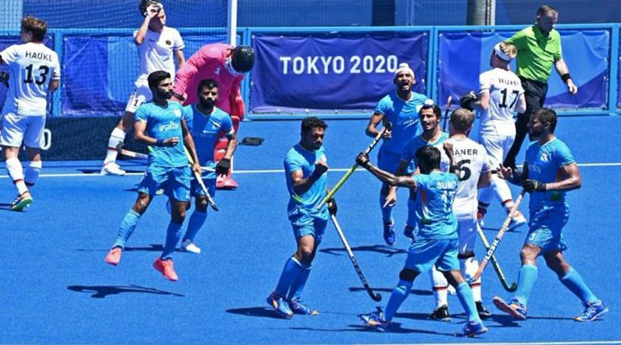 India men's hockey team beats Germany 5-4 to win bronze