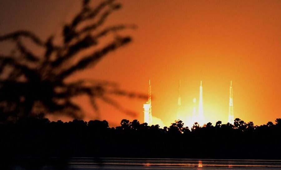 Isro's satellite launch fails due to technical glitch