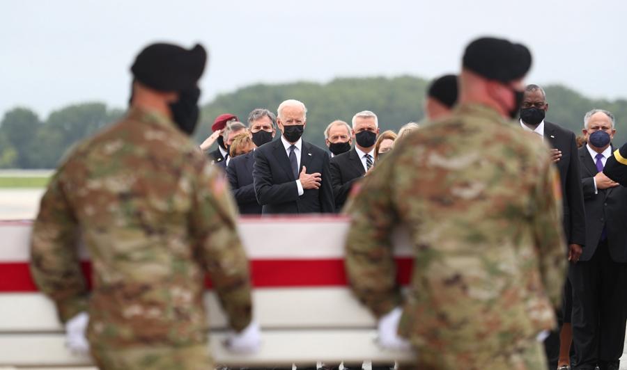 Biden honors U.S. service members killed in Kabul attack