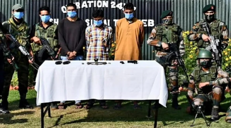 Three over ground LeT workers held for grenade attack on CRPF