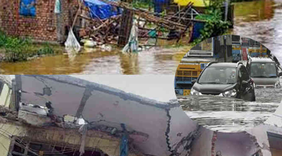 Two houses collapsed due to rain in MP, 6 killed