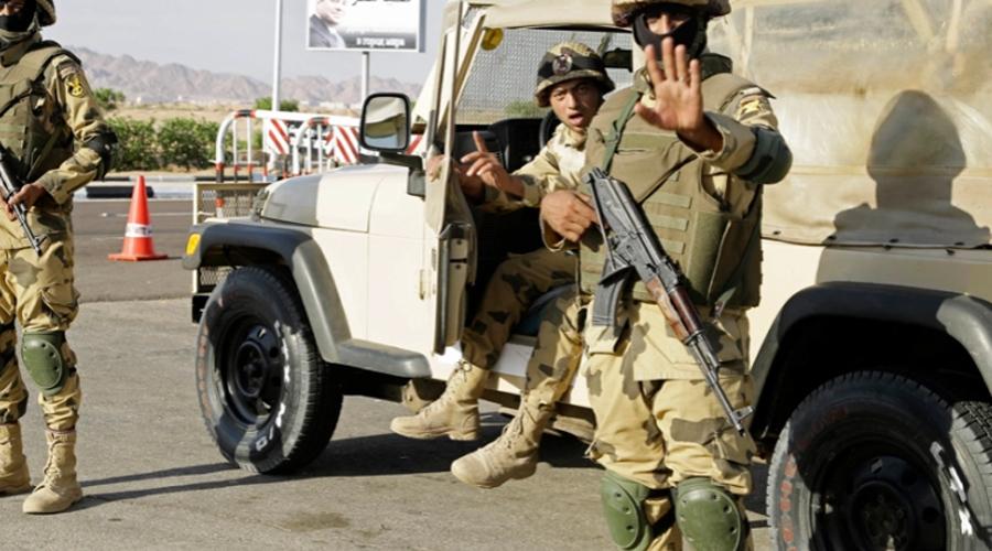 Daesh militants killed 5 soldiers in Egypt Sheikh zayed Sinai peninsula