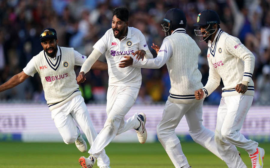 Siraj finishes England off as India script famous win