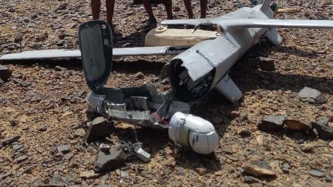 Saudi led Arab alliance foil three Houthis drone attack targeting Khamis Mushait