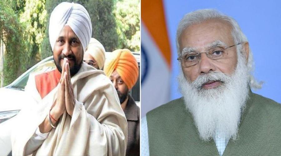 PM Modi congratulates new Punjab CM Charanjit Singh Channi