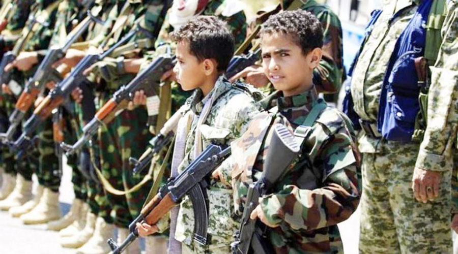 Recruitement of children by Houthis for war damaging the peace efforts : says US envoy for Yemen
