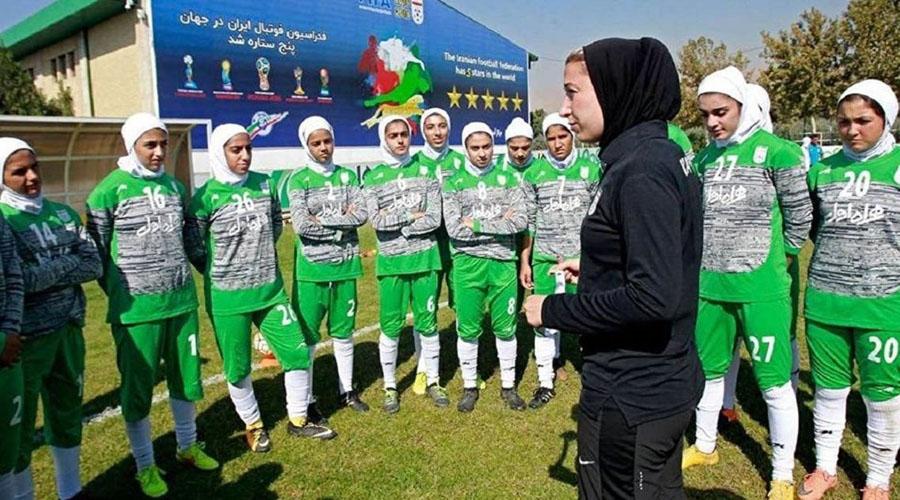 Controversy over new uniform prepared for Iran women footballers