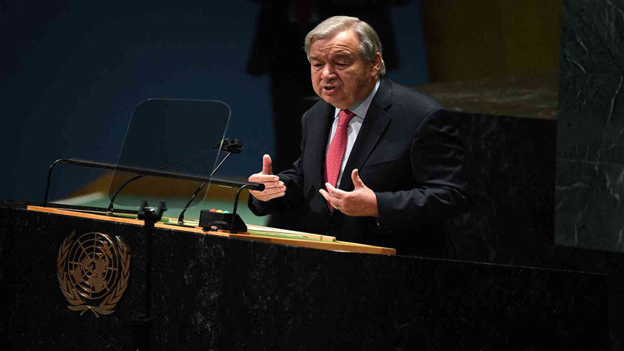 """Security Council united on """"stable"""" Afghanistan: UN Chief Antonio Guterres"""