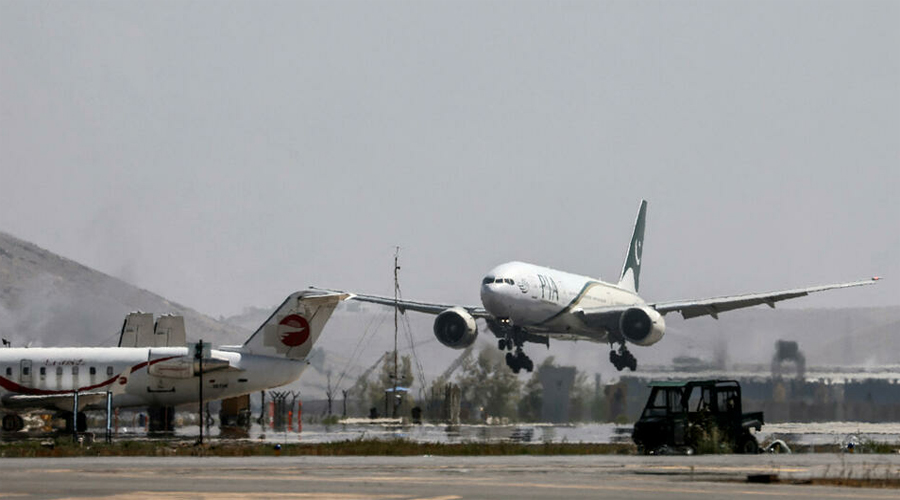 Pakistani plane lands in Kabul in first commercial flight since Taliban takeover