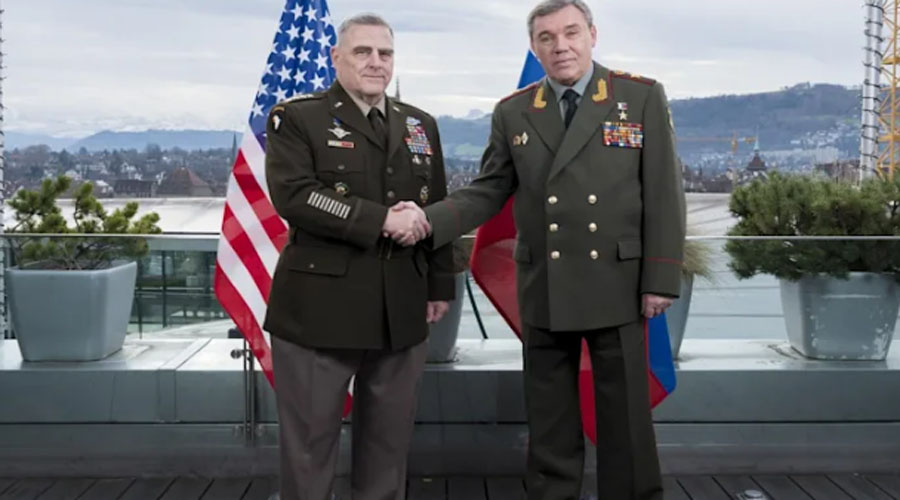 US, Russian military chiefs meet in Helsinki for six hours