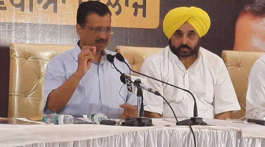 Kejriwal promises free treatment at govt hospitals if AAP voted to power in Punjab