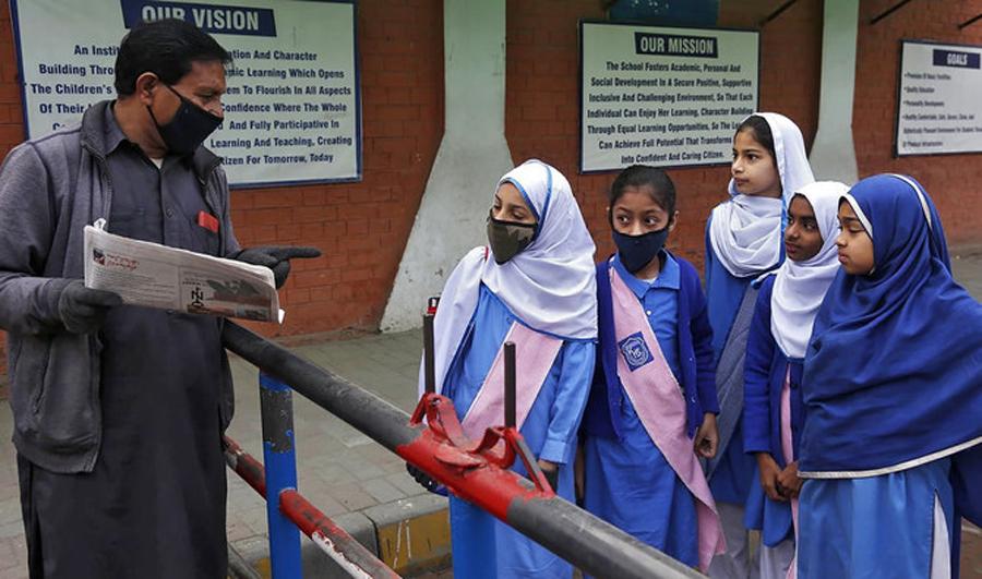 Coronavirus: Schools in Pakistan reopen with 100 percent attendance