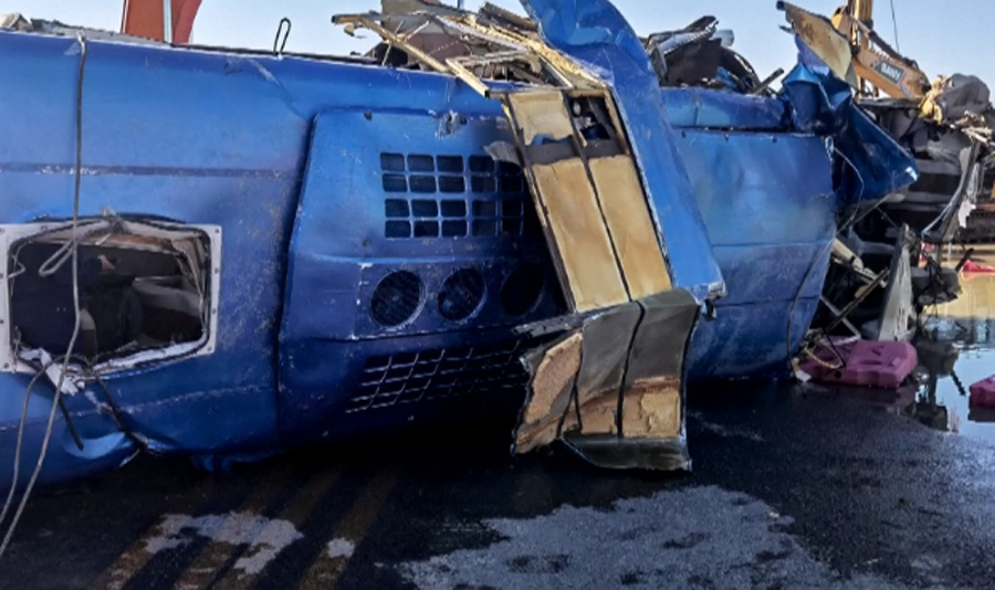 Toll from north China bus accident rises to 14
