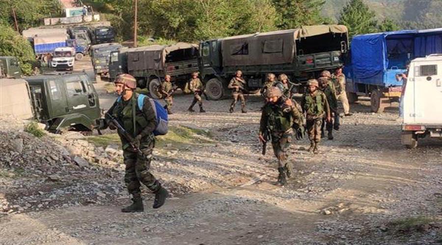 JCO among 5 soldiers killed in J&K